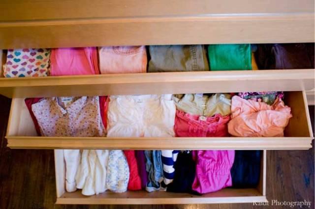 Girls' Bedroom Dresser Drawers