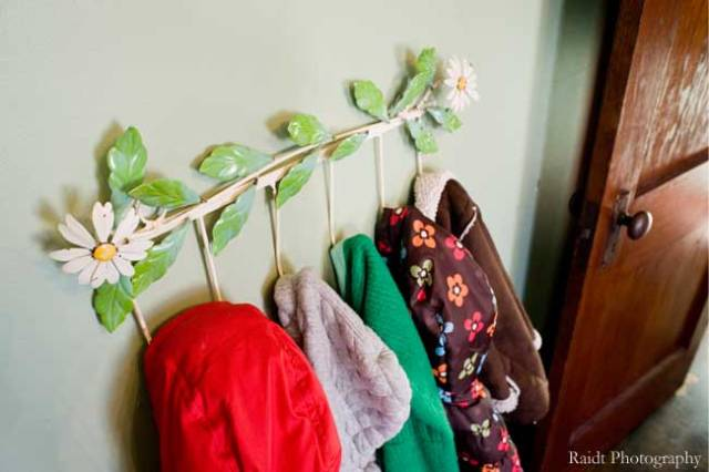 Girls' Bedroom Coat Rack