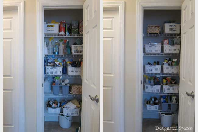 Supply Closet Before And After