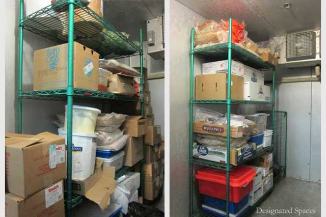 Walk-In Freezer Before and After