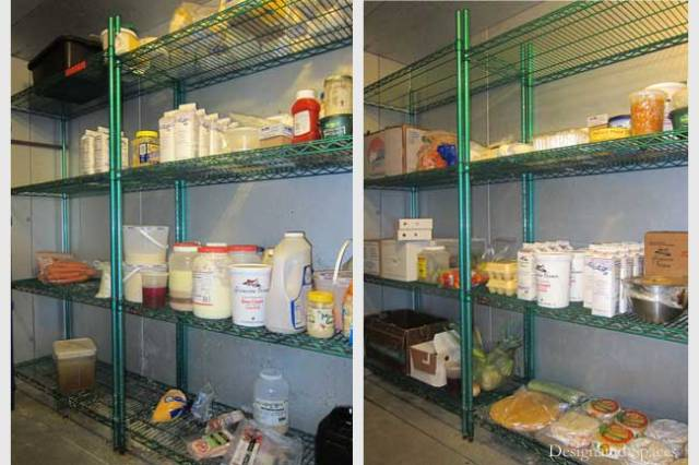 Walk-In Refrigerator Before and After