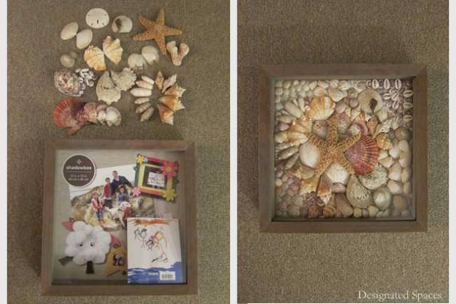 Shadowbox Before and After