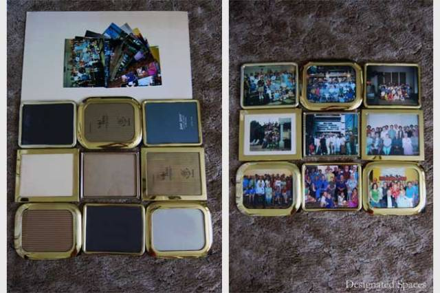 Family Reunion Photo Frames Before and After