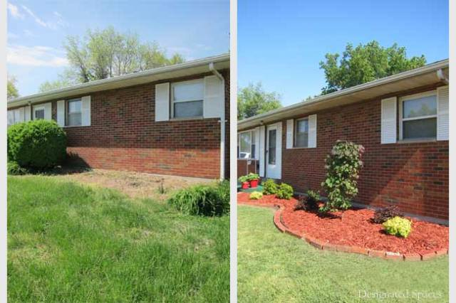 Front Yard Landscaping Before and After