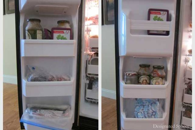 Freezer Before and After